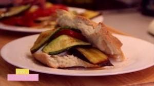 La Focaccia – Légumes grillés et Chèvre frais