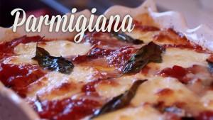 Aubergines à la Parmigiana