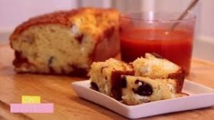 Les cakes salés: Tomates séchées/Feta/Olives noires – Bleu/Noix