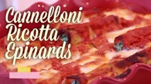 Cannelloni Ricotta Epinard