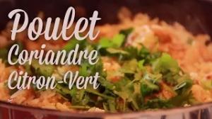 Poulet Coriandre – Citron vert